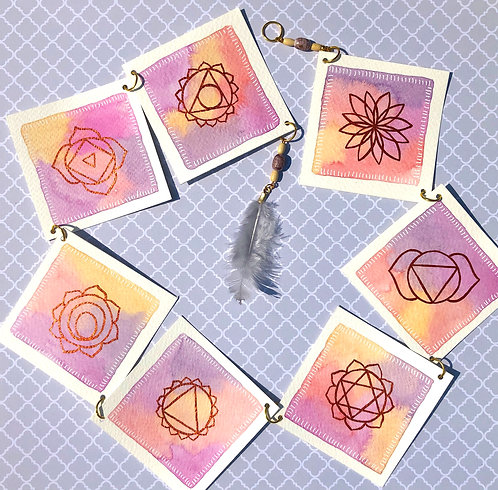 Mobile Chakras Aquarelle