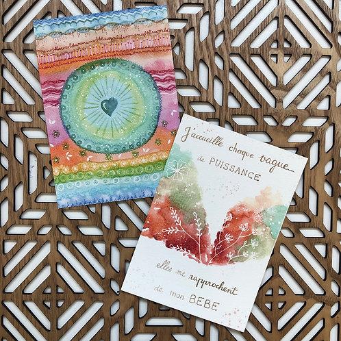 Set de 22 Cartes d'Affirmation Positive