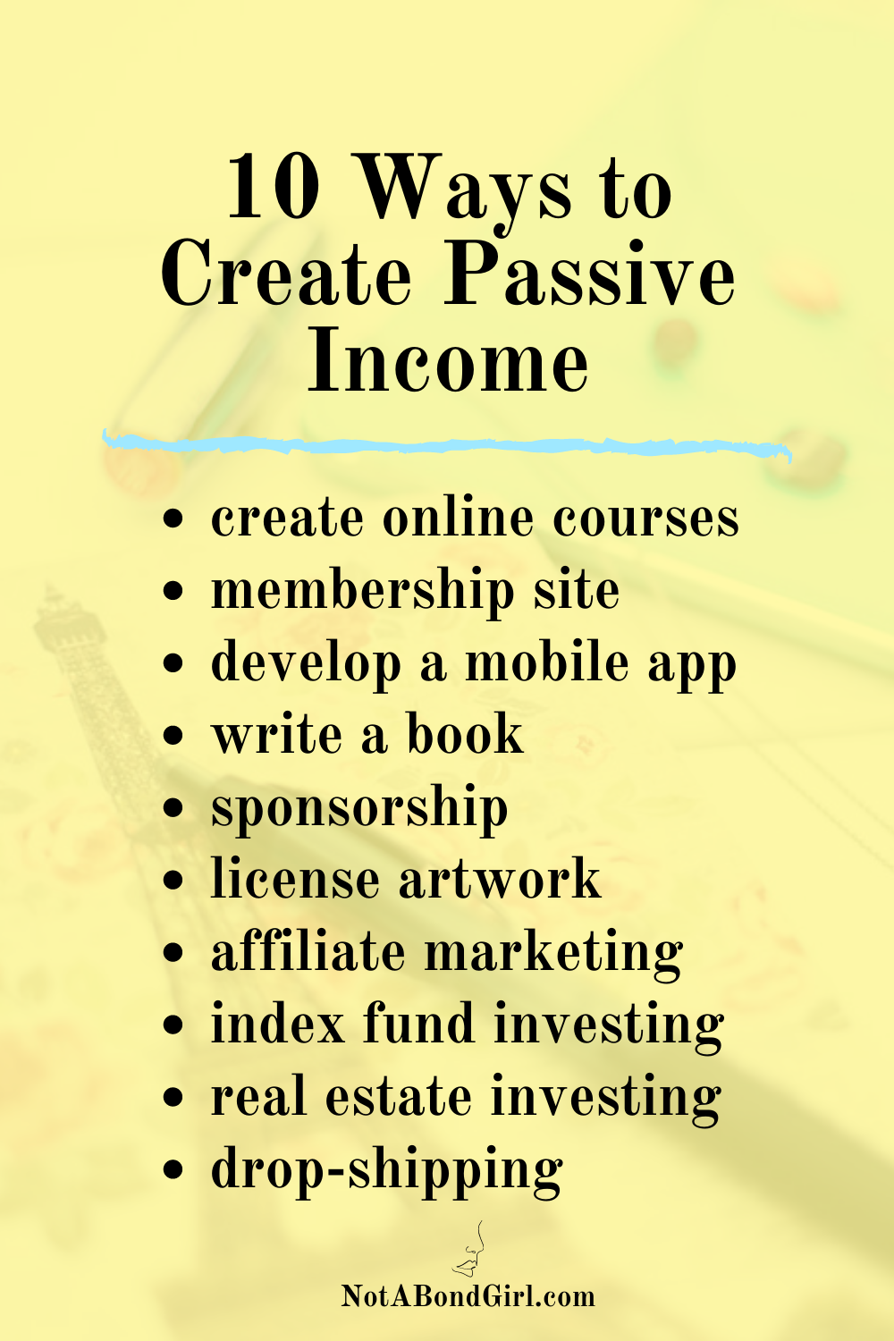 How I Live Off My Passive Income Streams