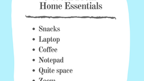 6 Work From Home Essentials: Essentials Listed