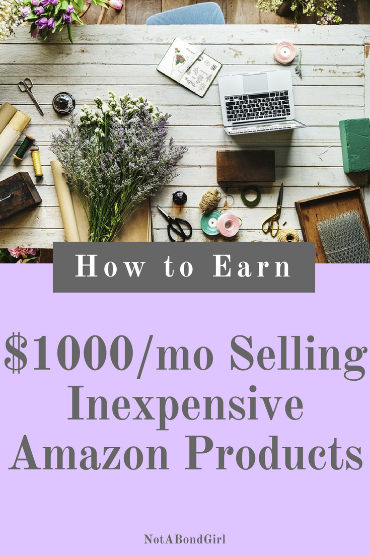 How to Make $1000/Mo Selling Inexpensive Amazon Products; make money selling inexpensive amazon products, amazon affiliate program, make money as amazon associate