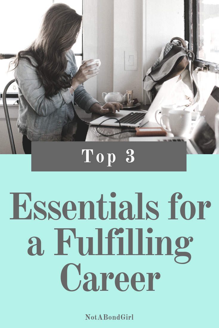 Top 3 Essentials for a Fulfilling Career #career #work #worklife #financialfreedom #girlboss #financialtips #personalfinance #moneytips #wealth #financialindependence #finance #money #mindset #mindfulness #worklifebalance #wellness #entrepreneur #girlboss