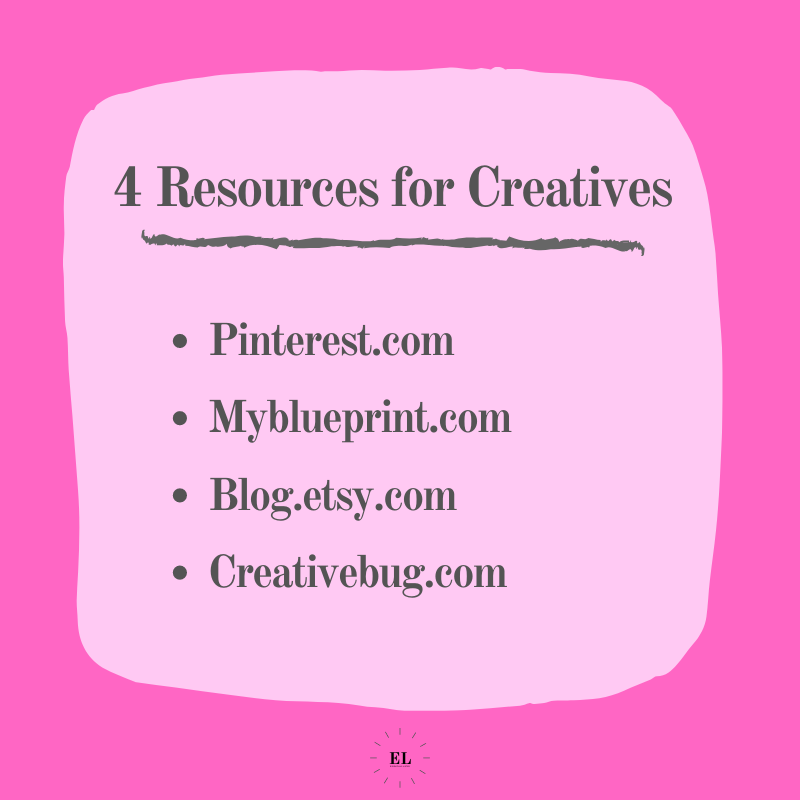 4 Resources for Creatives: Essentials Listed