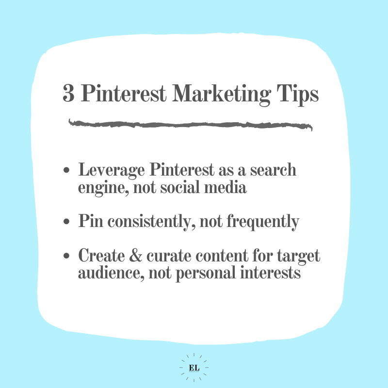 3 Pinterest Marketing Tips: Essentials Listed