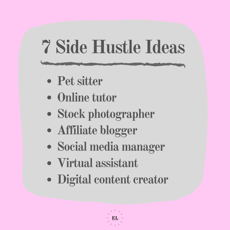 7 Side Hustle Ideas: Essentials Listed