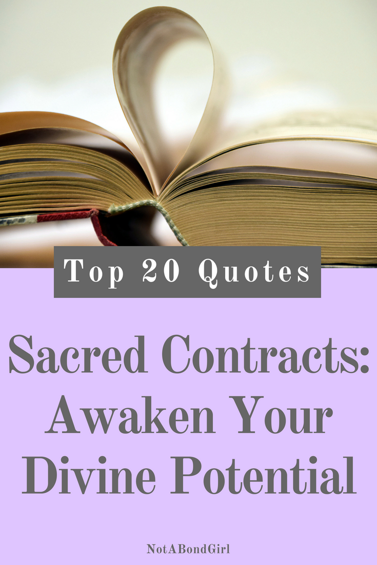 20 Best Quotes from Sacred Contracts by Caroline Myss