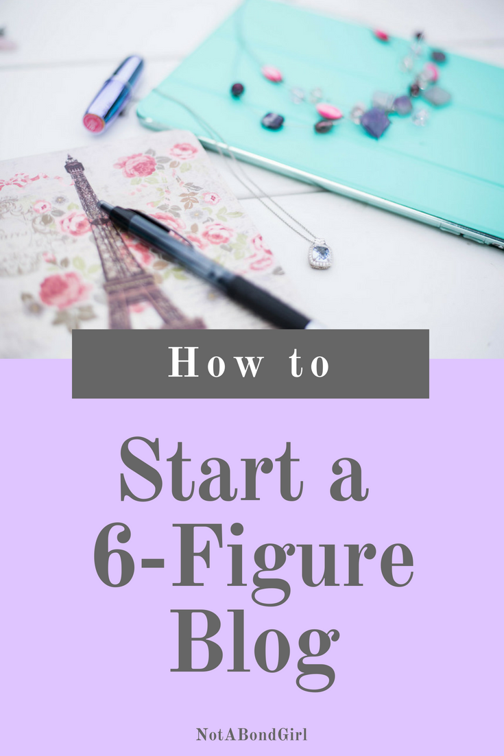 3 Must-Haves for a Six-Figure Blog; how to make money blogging, how to make a profit blogging, build profitable blog, start online blogging business