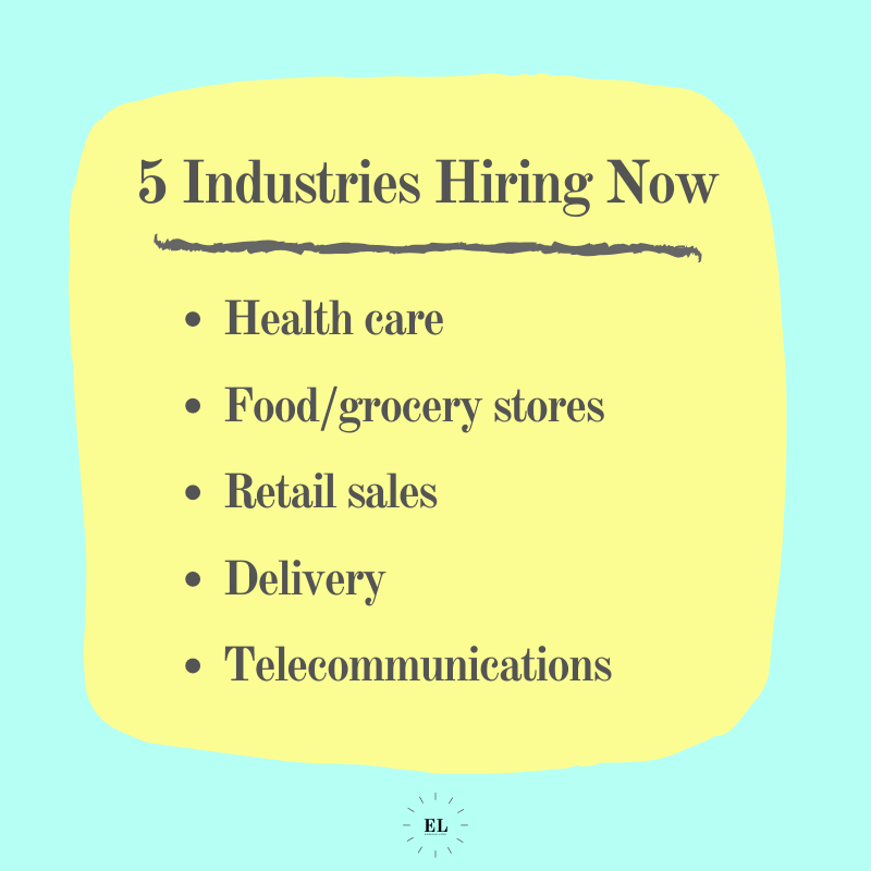 5 Industries Hiring Now: Essentials Listed
