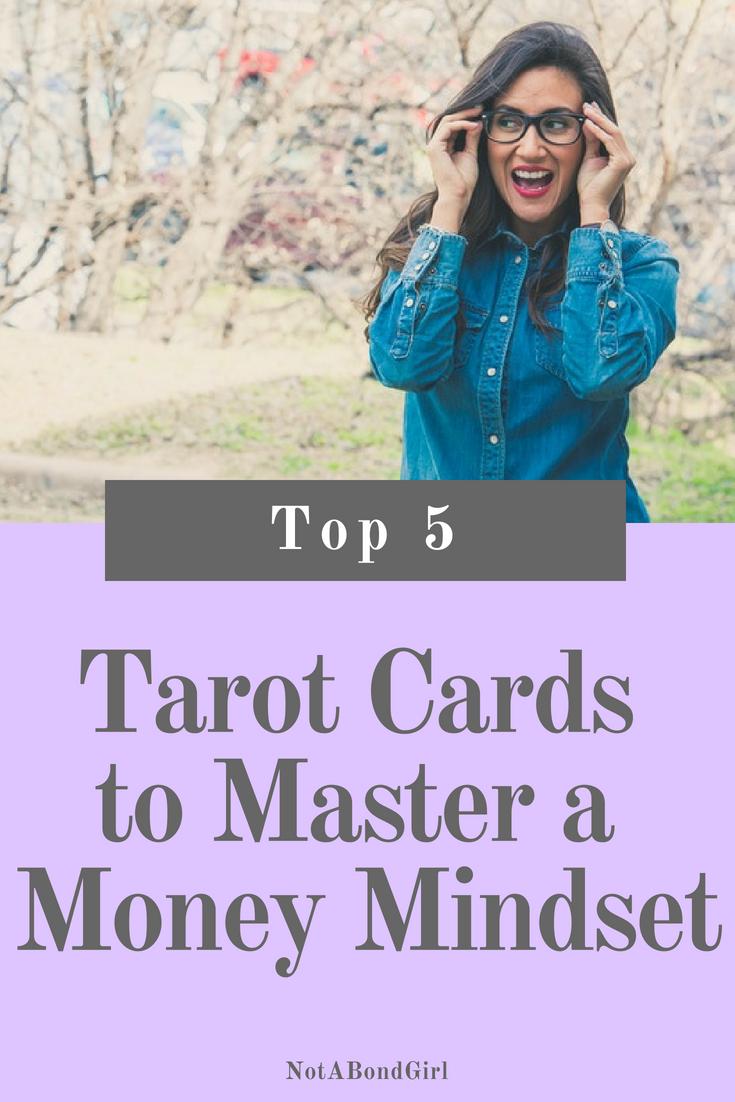 Top 5 Tarot Cards to Master a Money Mindset, finance and money tarot cards