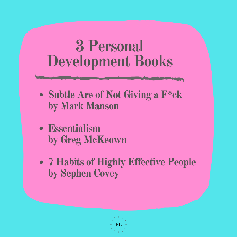 3 Personal Development Books: Essentials Listed