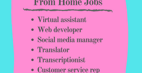6 Popular Work From Home Jobs: Essentials Listed