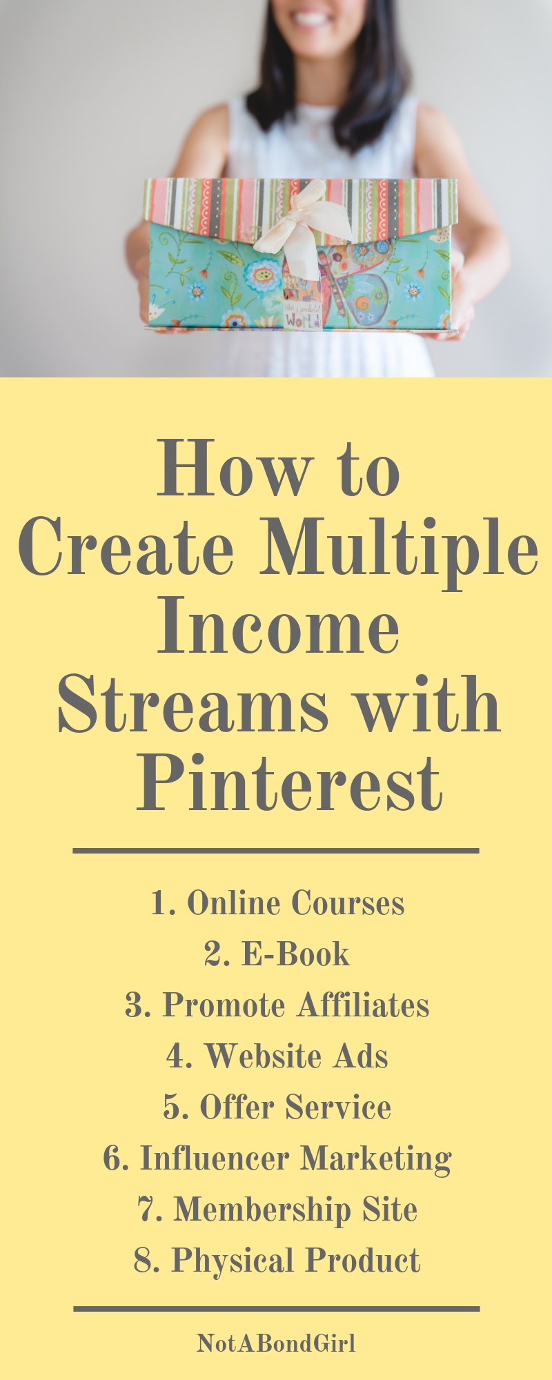 How to Create Multiple Income Streams on Pinterest, Free Course:  How to Make Money with Pinterest