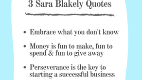 3 Sara Blakely Quotes: Essentials Listed
