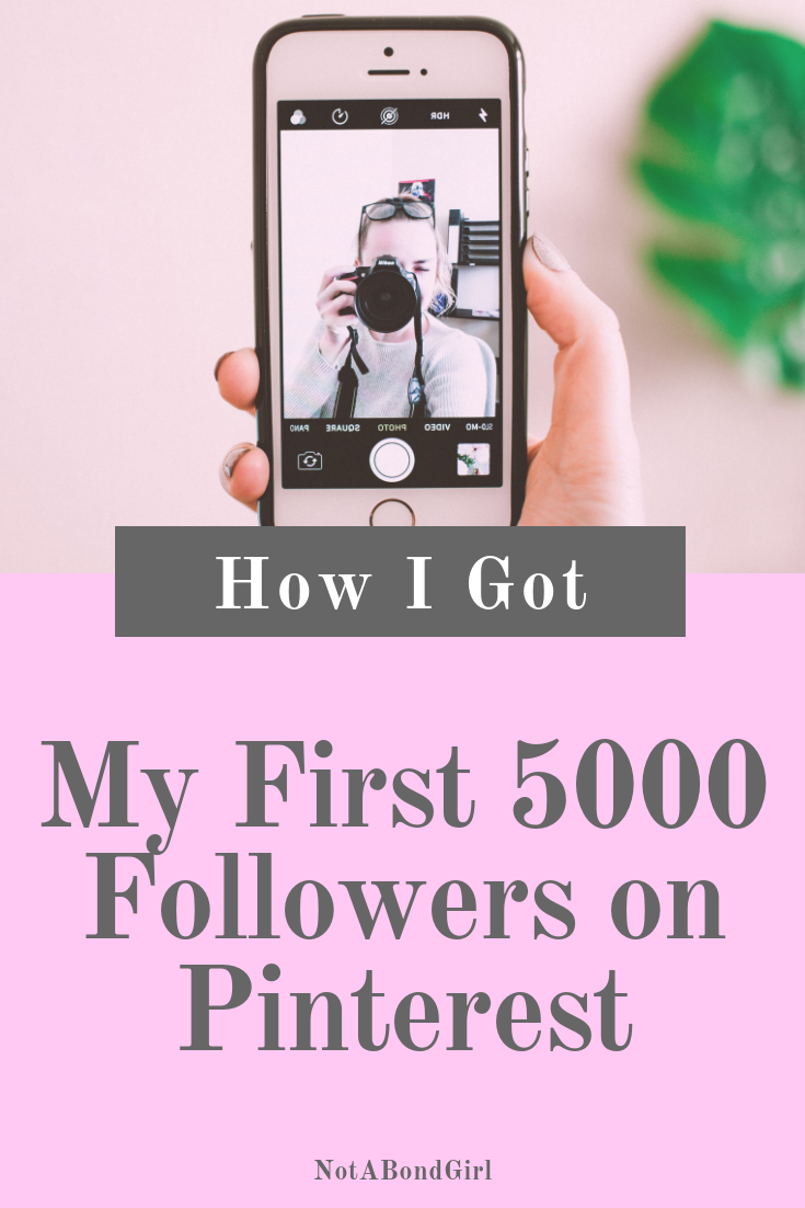 How I Got My First 5000 Followers on Pinterest; How to Become a Micro-Influencer; #microinfluencer #influencer #socialmedia #blogging #onlineblog #blogtips #blog #blogbusiness #onlinebusiness #girlboss #businesstips #entrepreneur #branding #bossbabe