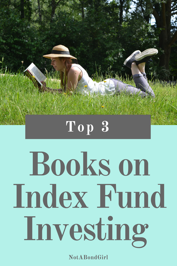 Top 3 Books on Investing in Index Funds, investing in stocks for beginners