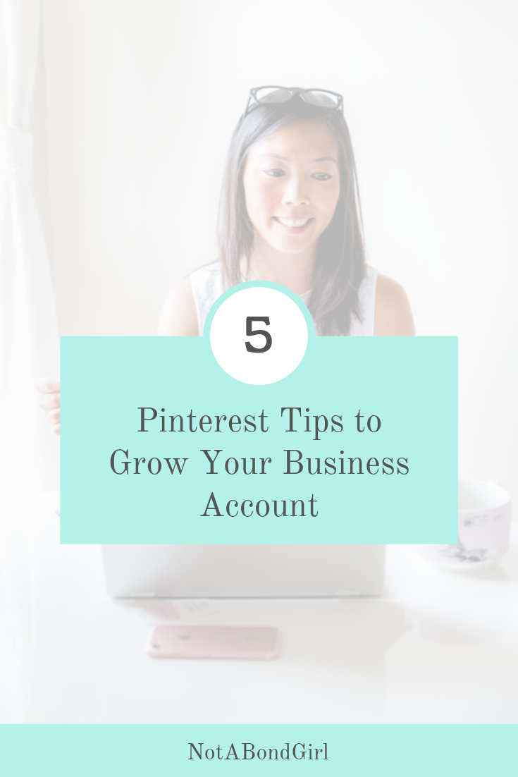 Video: 5 Pinterest Tips to Grow Your Business Account
