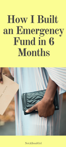 build emergency fund in 6 months, how much needed in emergency savings, emergency money