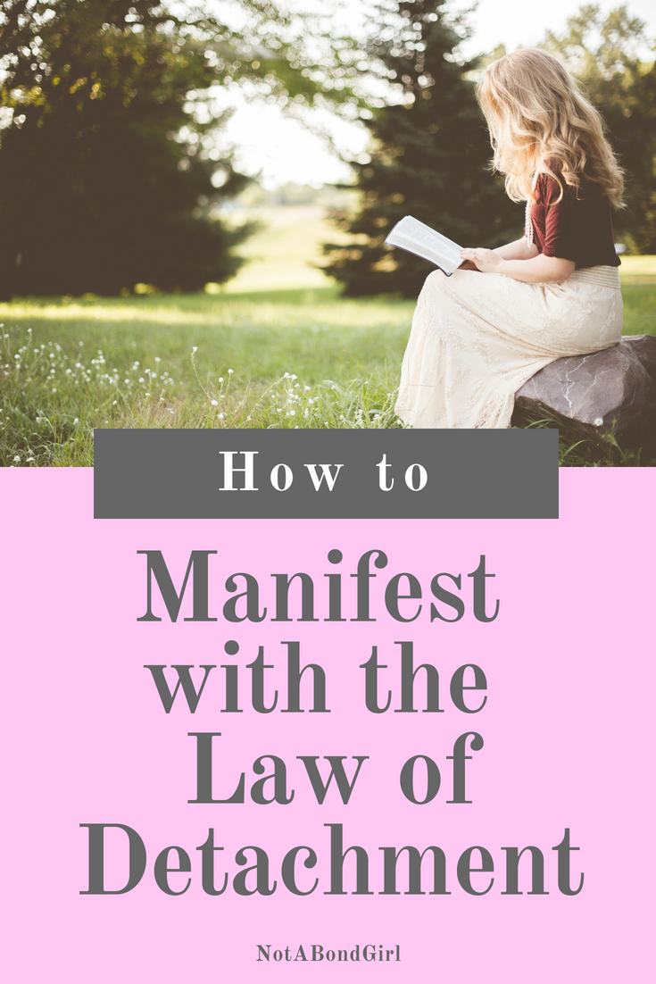 How to Manifest with the Law of Detachment; law of detachment, manifest wealth, law of attraction, manifest more money, when to let go