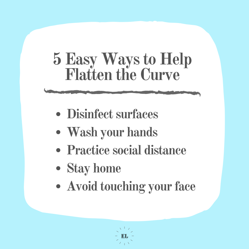 5 Easy Ways to Help Flatten the Curve: Essentials Listed