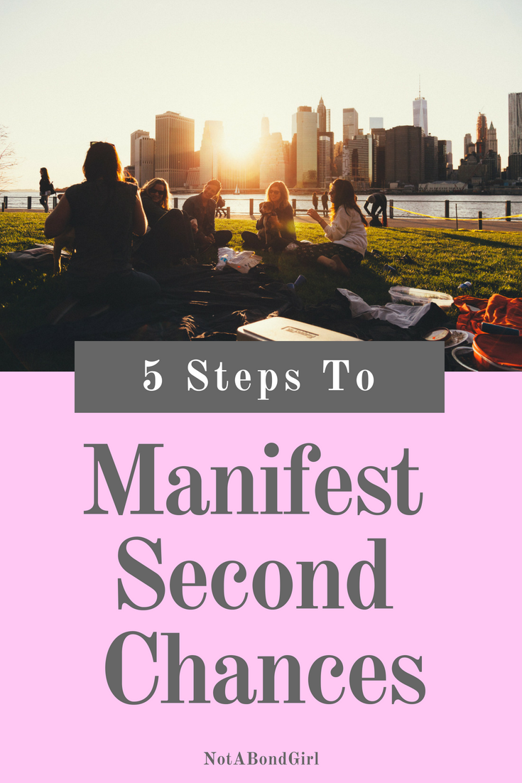 5 Steps to Manifest a Second Chance; manifest second chance, financial recovery, recover from financial loss, manifest wealth