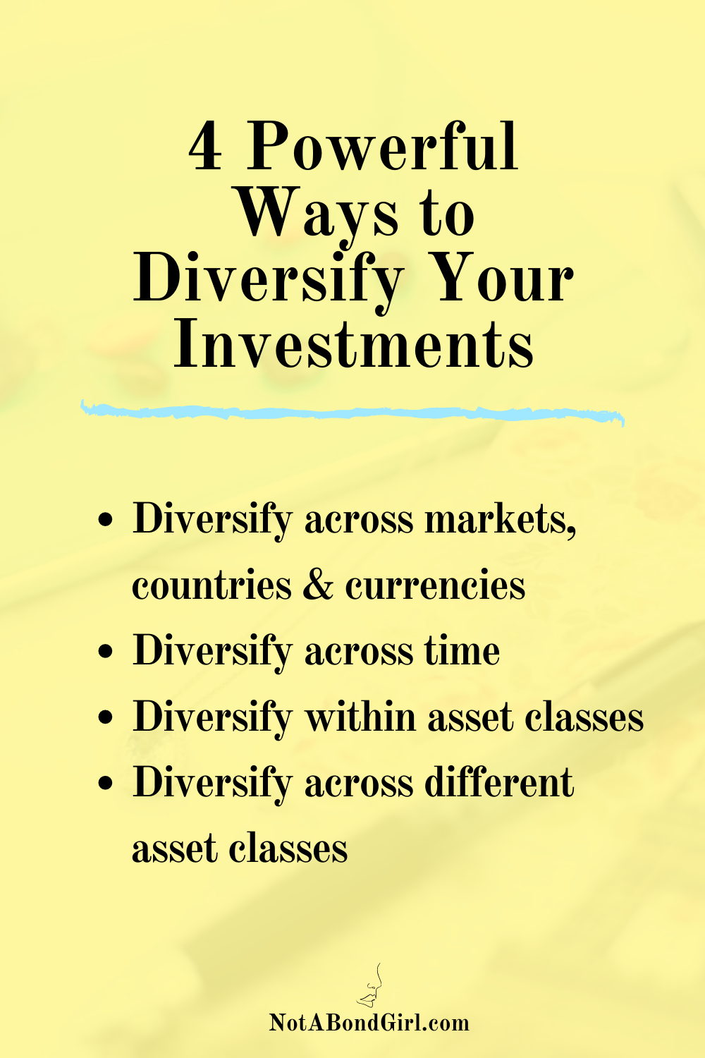 4 Powerful Ways to Diversify Your Investments & Reduce Risk