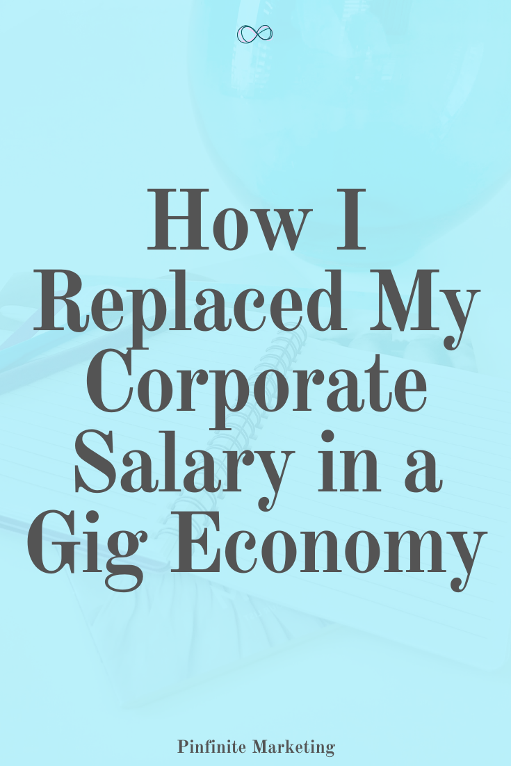 E-Book: How I Replaced My Corporate Salary in a Gig Economy