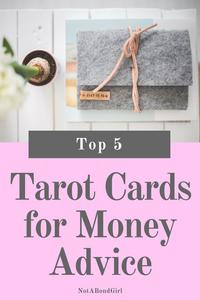 Top 5 Tarot Cards for Money Advice, best finance and money tarot cards