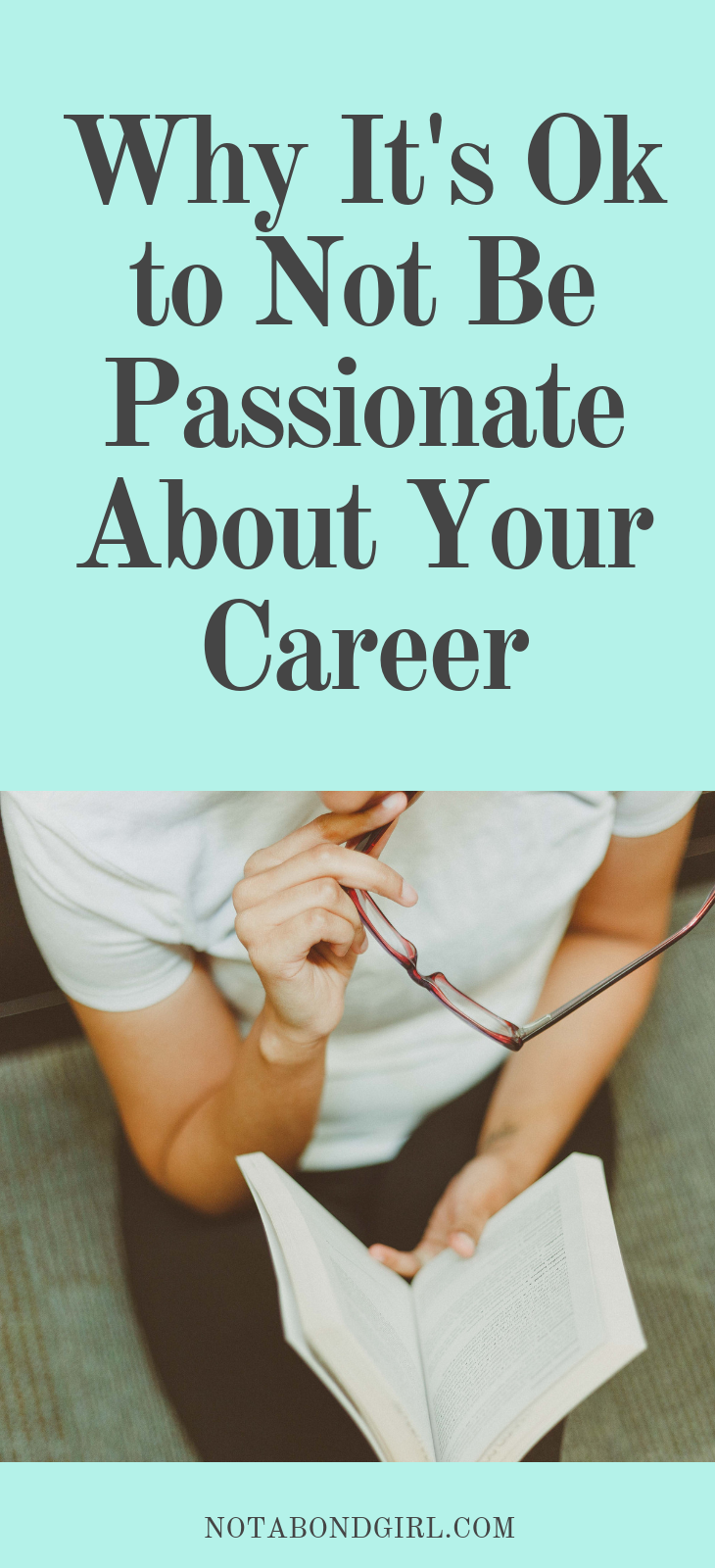 Why It's Ok Not to Be Passionate About Your Career