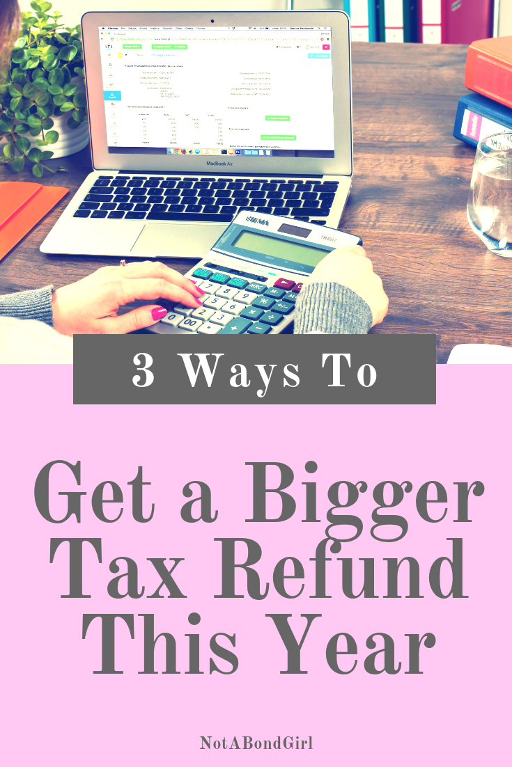 3 Ways to Get a Bigger Tax Refund This Year; Financial Independence Retire Early (FIRE) like a Boss #financialfreedom #retirement #finance #money #personalfinance #investment #girlboss #blogging #goalsetting #financialindependence #wellness #wealth #abundance #inspiration #motivation #personaldevelopment #mindfulness #moneygoals #financialliteracy #retireearly #earlyretirement