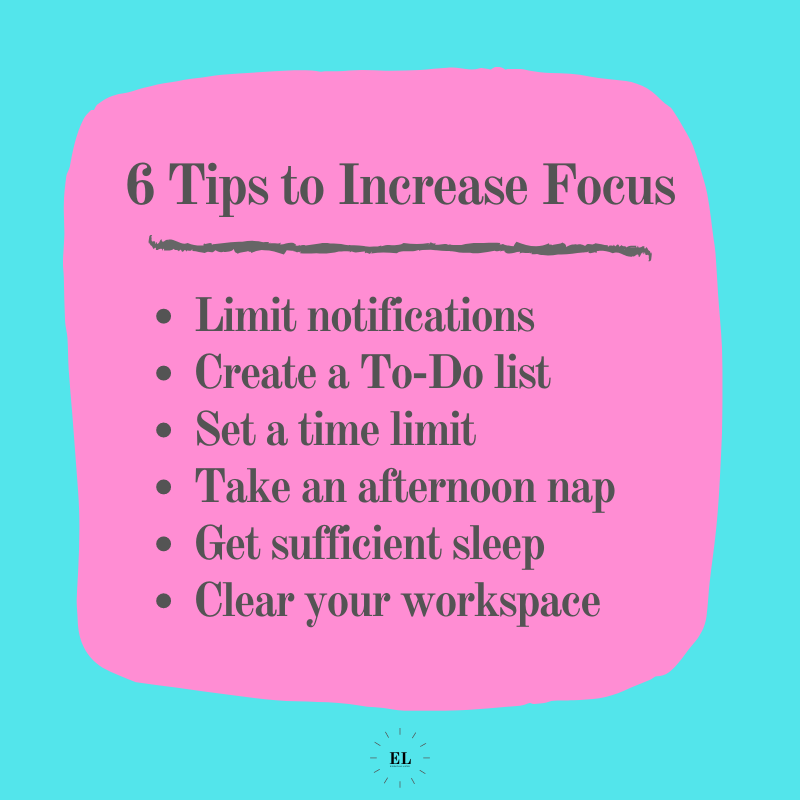 6 Tips to Increase Focus: Essentials Listed