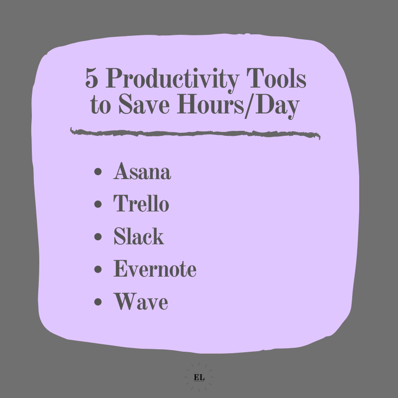 5 Productivity Tools to Save Hours a Day: Essentials Listed