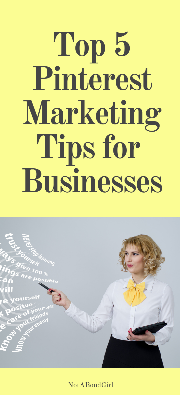 Top 5 Pinterest Marketing Tips of the Week for Businesses, Startups and Brands