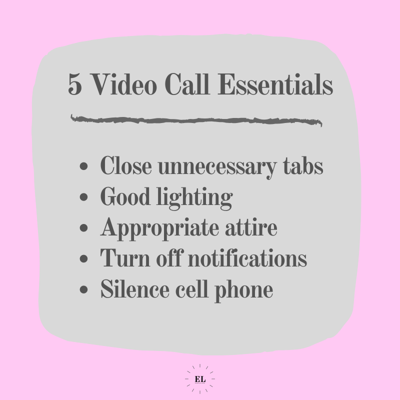 5 Video Call Essentials for Work: Essentials Listed