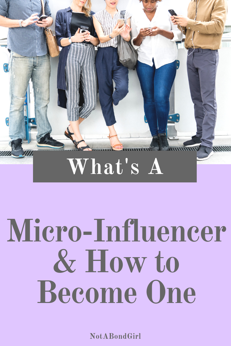 What's a Micro-Influencer & How to Become One; #microinfluencer #influencer #socialmedia #blogging #onlineblog #blogtips #blog #blogbusiness #onlinebusiness #girlboss #businesstips #entrepreneur #branding #bossbabe