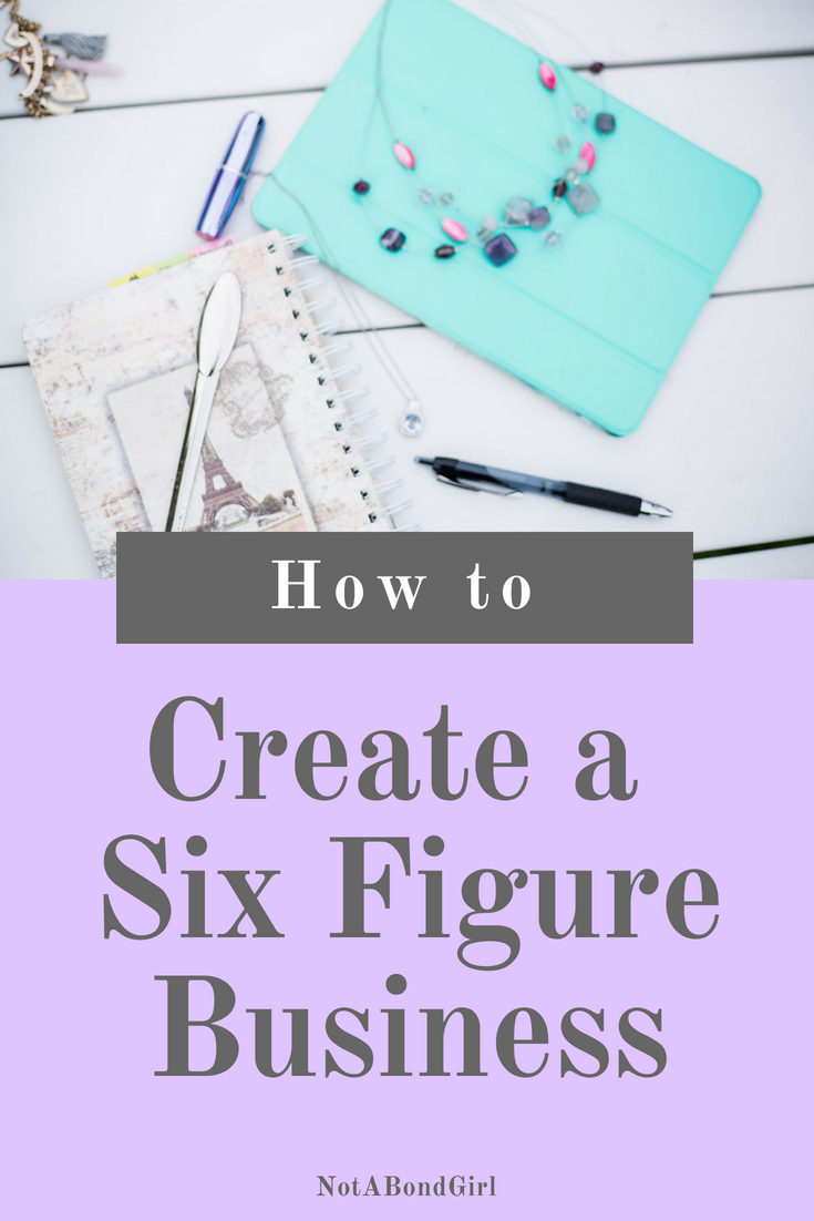 How to Create a 6-Figure Business without Millions of Views; create online business, how to make money blogging, how to create blogging business, 6-figure business online; #girlboss #entrepreneur #worklife #blogging #business #blogger #personalfinance #money
