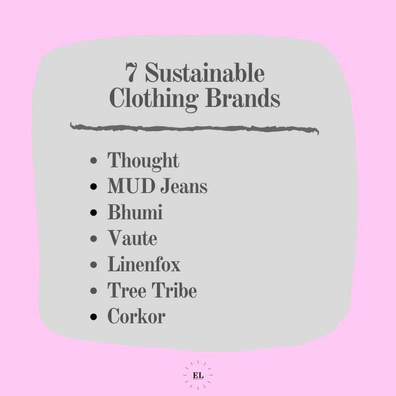 7 Sustainable Clothing Brands: Essentials Listed