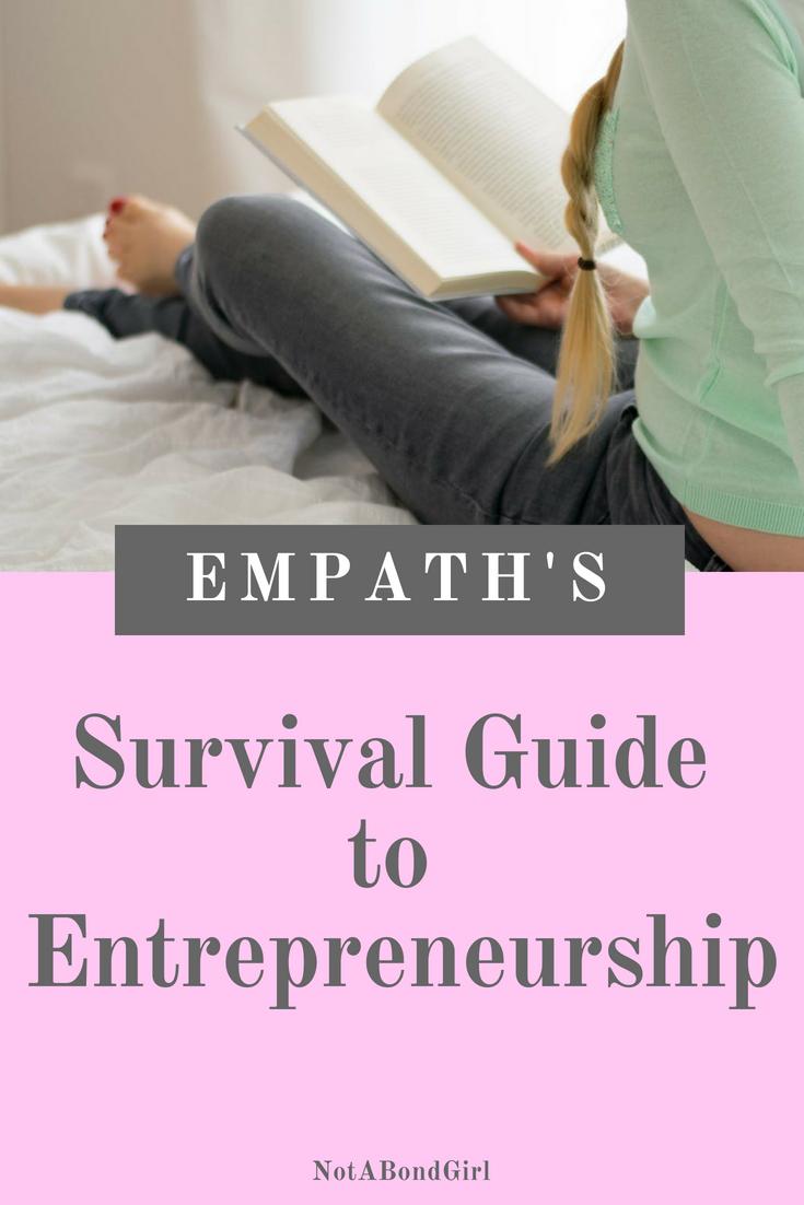 Empath's Guide to Entrepreneurship; entrepreneurship guide, empath guide to entrepreneurship, entrepreneur tips for success