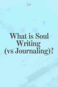 What is Soul Writing vs Journaling?  #personaldevelopment #intuition #spiritual #selfhelp