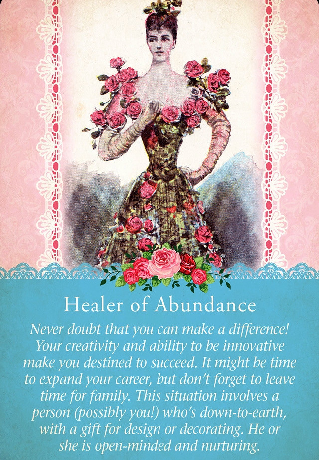 Healer of Abundance, Guardian Angel Tarot Cards
