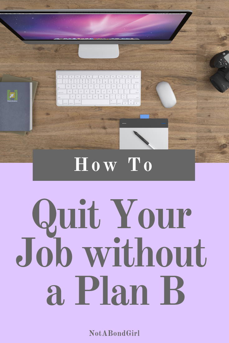 How to Quit Your 9-5 without a Plan B #worklife #career #money #finance #financialplanning #financialgoal #debtfree #moneygoal #financialfreedom #personalfinance