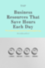 Top Business Resources That Save Hours E