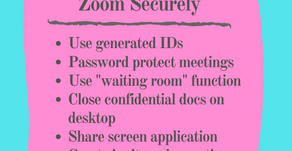 6 Tips to Use Zoom Securely: Essentials Listed