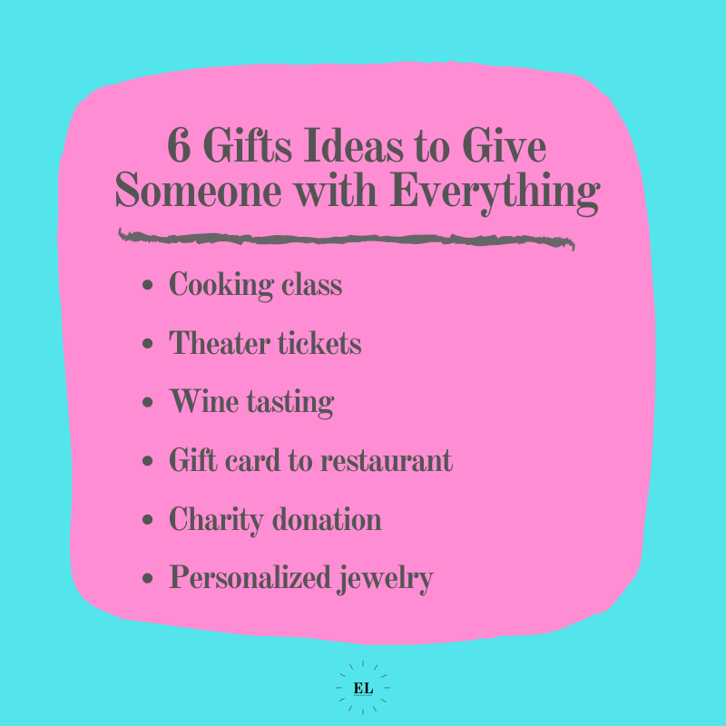 6 Gift Ideas to Give Someone with Everything: Essentials Listed