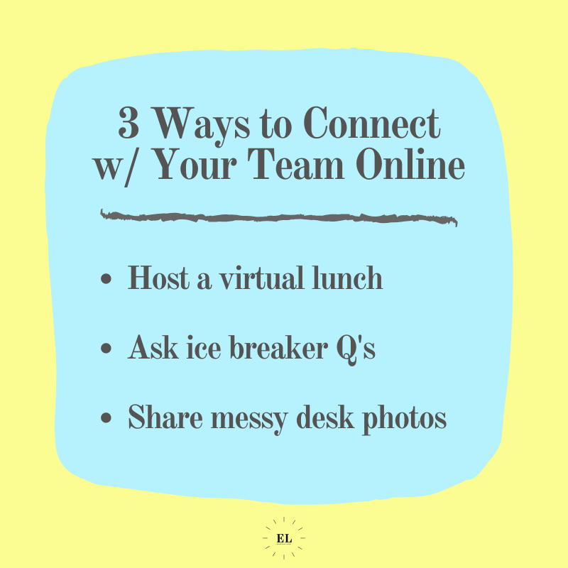 3 Ways to Connect with Your Team Online: Essentials Listed