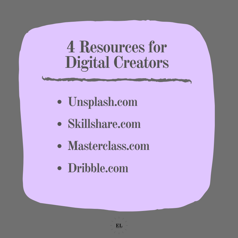 4 Resources for Digital Creators: Essentials Listed
