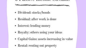 6 Passive Income Streams: Essentials Listed