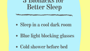 3 Biohacks for Better Sleep: Essentials Listed