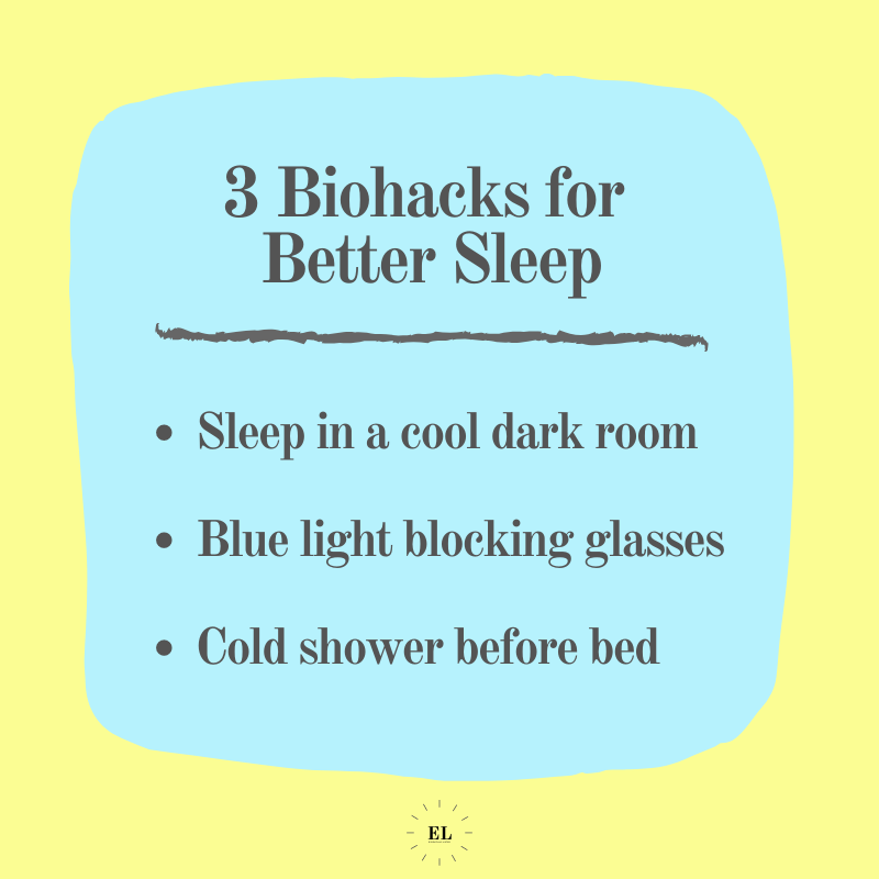 3 Biohacks for Better Sleep: Essentials Listed