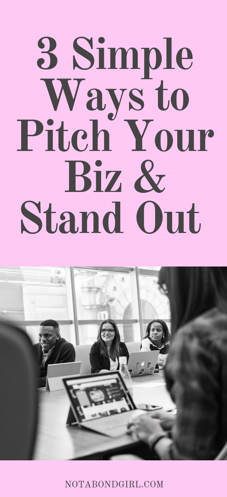 3 Simple Ways to Pitch Your Biz + Stand Out in a Saturated Market