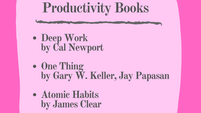 3 Must-Read Productivity Books: Essentials Listed